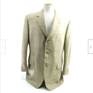 Canali Exclusive Collection Mens Sport Coat Sz 46R